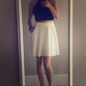 Dresses & Skirts - White skater skirt